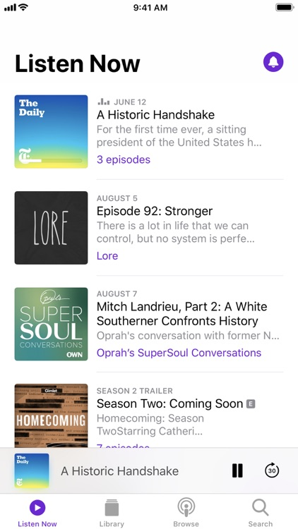 Apple Podcasts screenshot-0