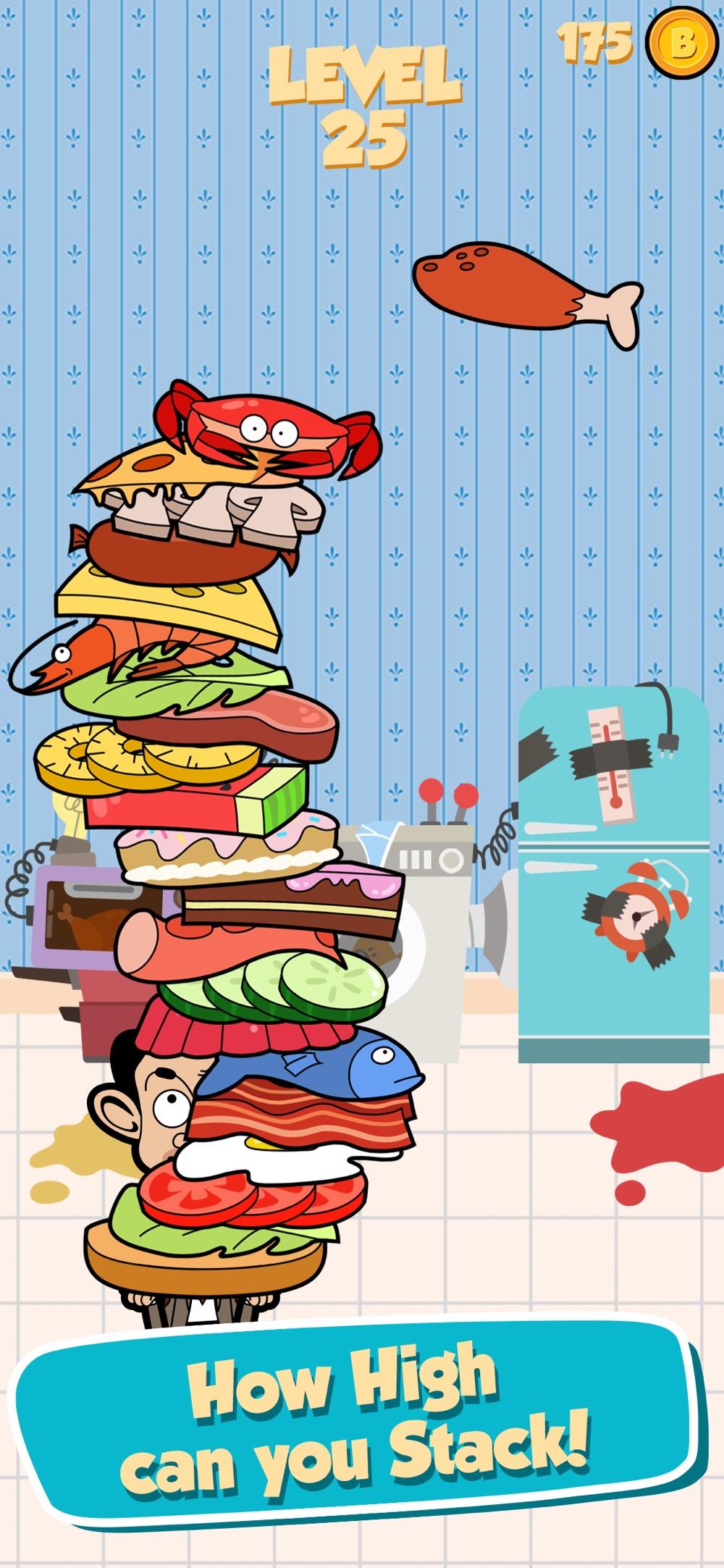 Mr Bean - Sandwich Stack hack tool