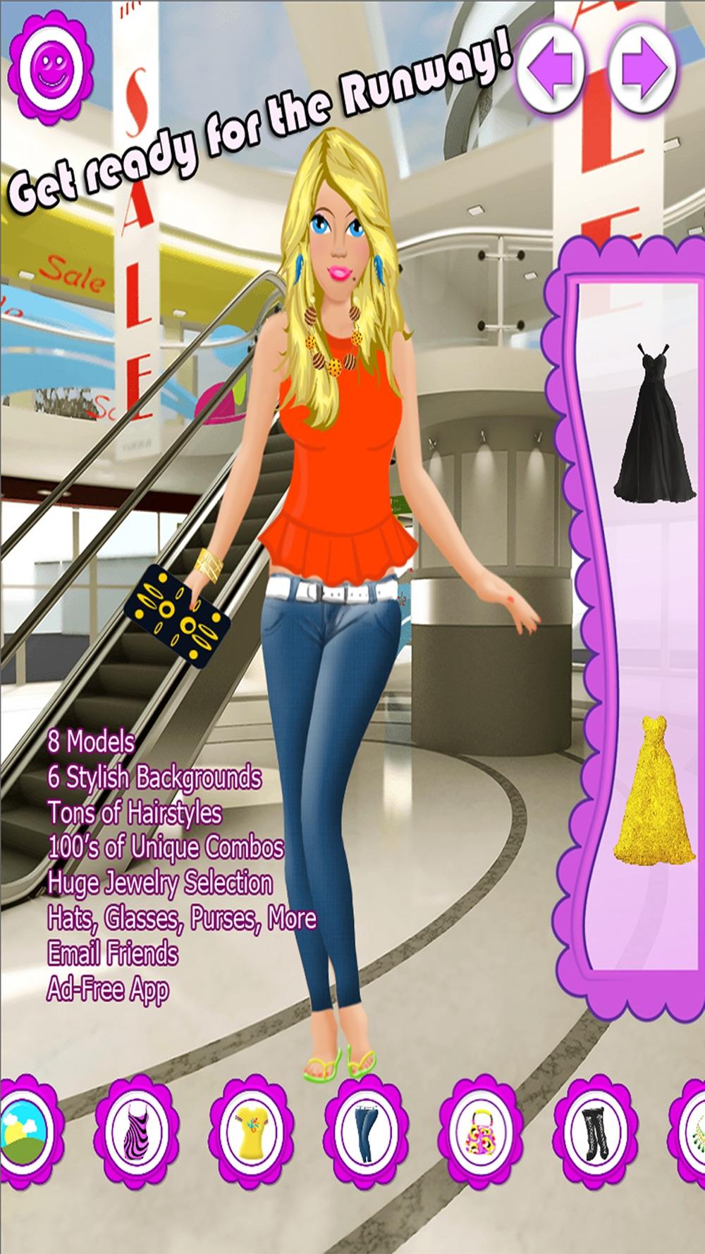 Fashion Salon Dressup Girl Spa Cheat Codes