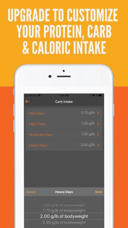 Carb Cycling: Macros Tracker screenshot-3