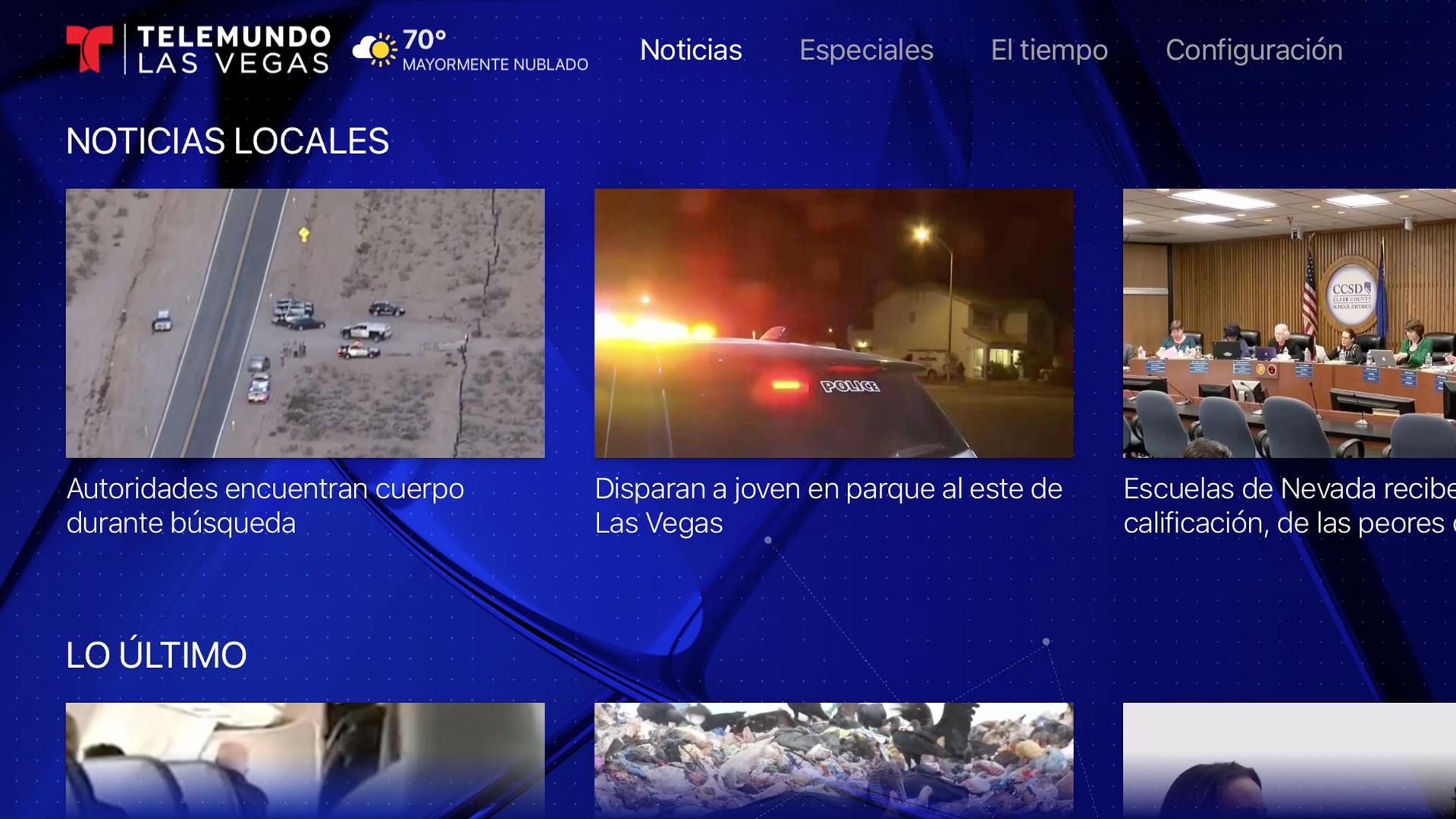 Telemundo Las Vegas screenshot 15