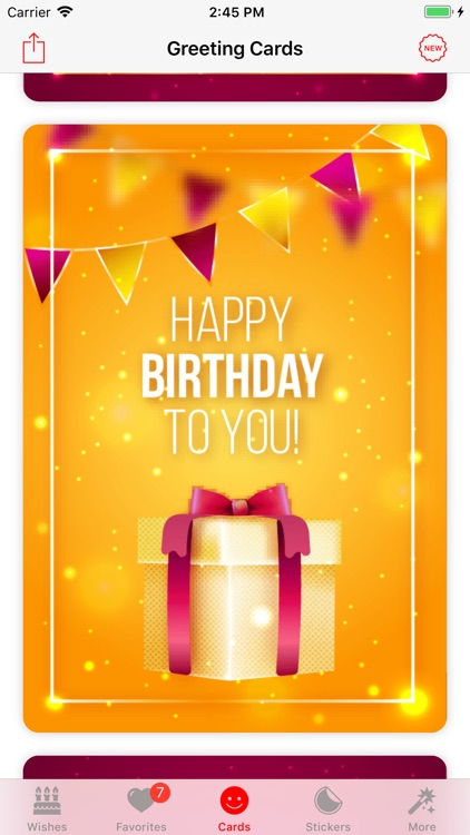 Birthday App! screenshot-3