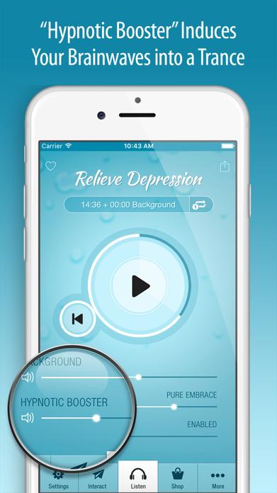 Relieve Depression Hypnosis Screenshot