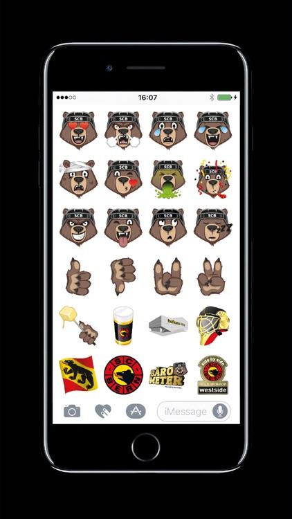 Bärmoji-Sticker