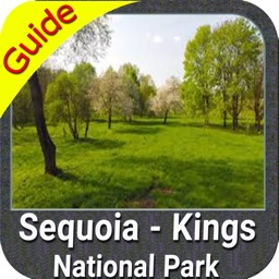Sequoia - Kings National Park gps and outdoor map