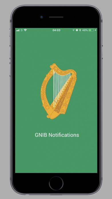 GNIB Notifications screenshot1