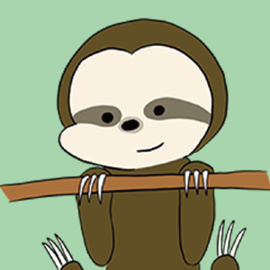 Cute Sloth Stickers ! - Stickers app