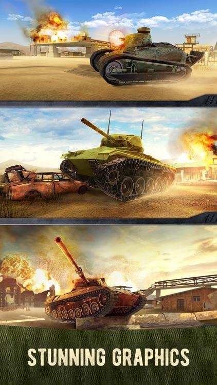 War Machines: 3D Tank Shooter screenshot-3