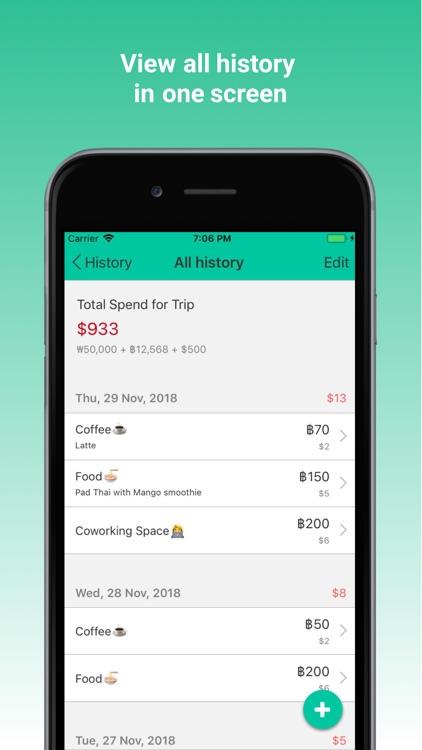 Nomad Wallet Expense Tracker screenshot-4