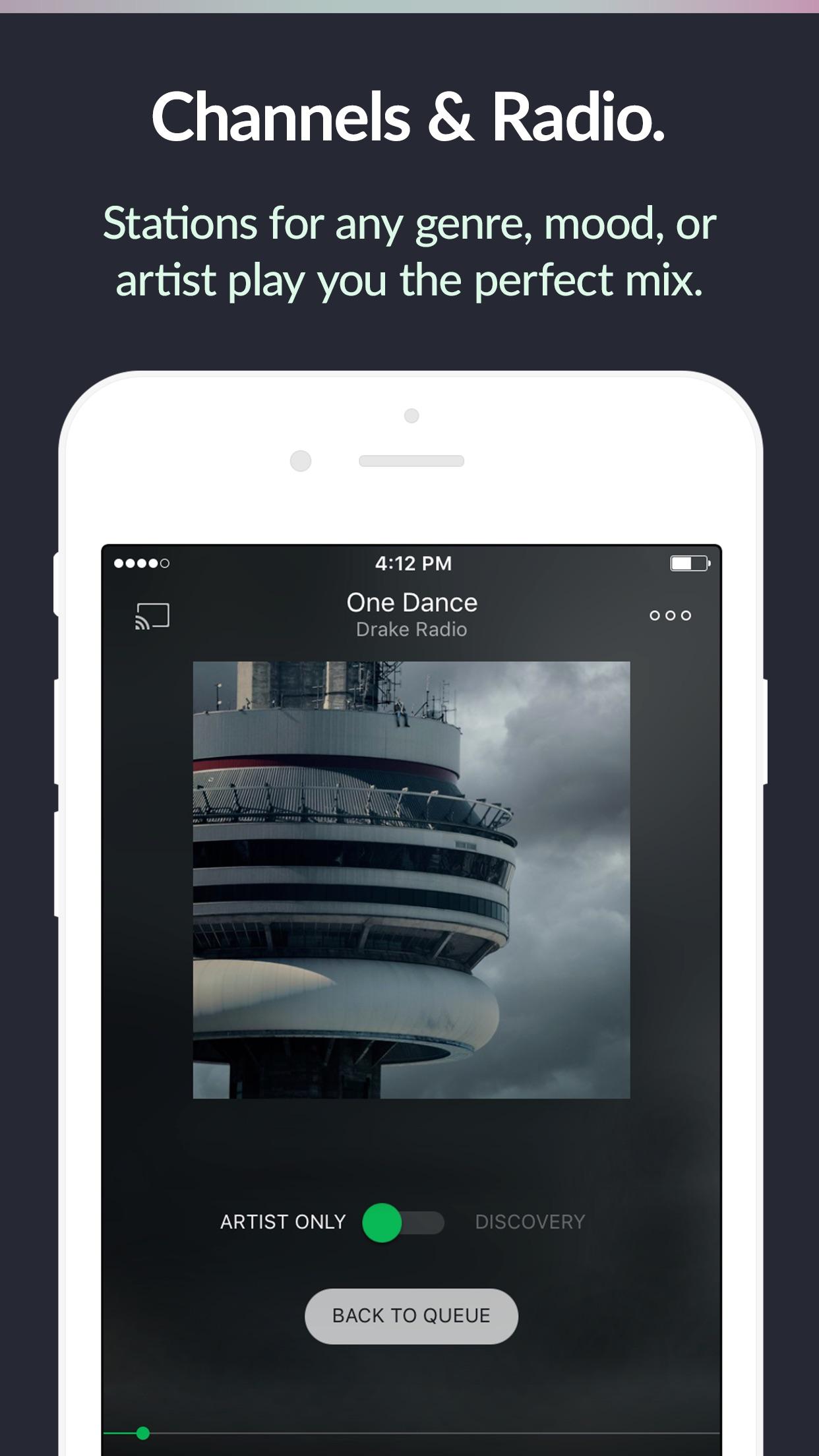 Saavn Music & Radio Screenshot