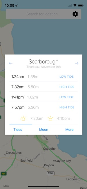My Tide Times Pro Tide Chart On The App Store