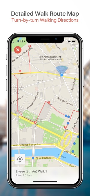 Dubai Map and Walks on the App Store