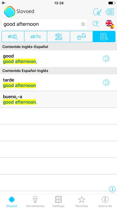 Diccionario Inglés <> Españolのおすすめ画像2