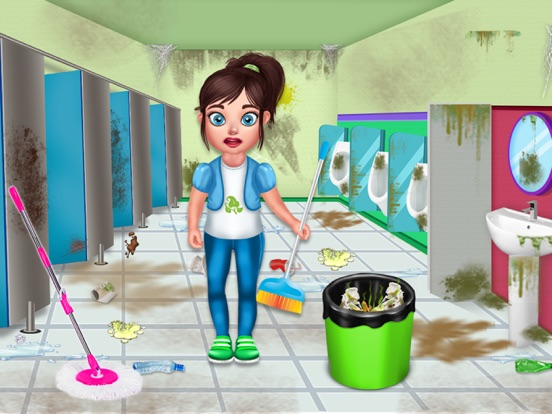 Baby School Cleaning screenshot 11