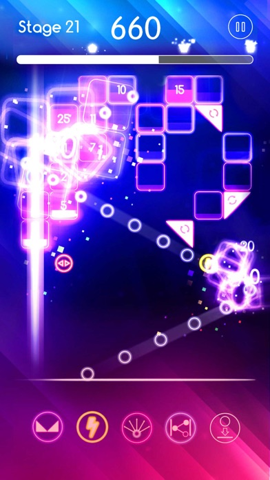 Neon Melody Pop screenshot 2