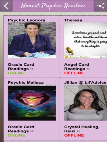 Honest Psychic Readings - náhled