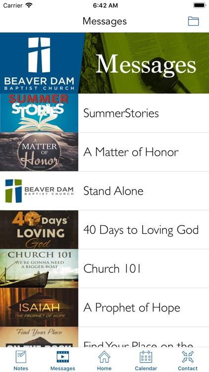 Beaver Dam Baptist Church | KY screenshot-3