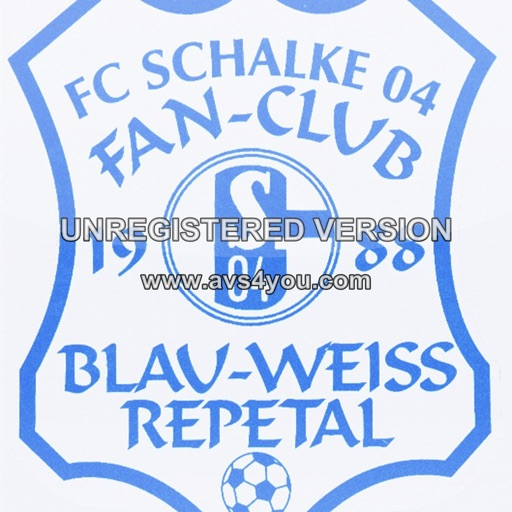 Schalke FC Blau Weiss Repetal