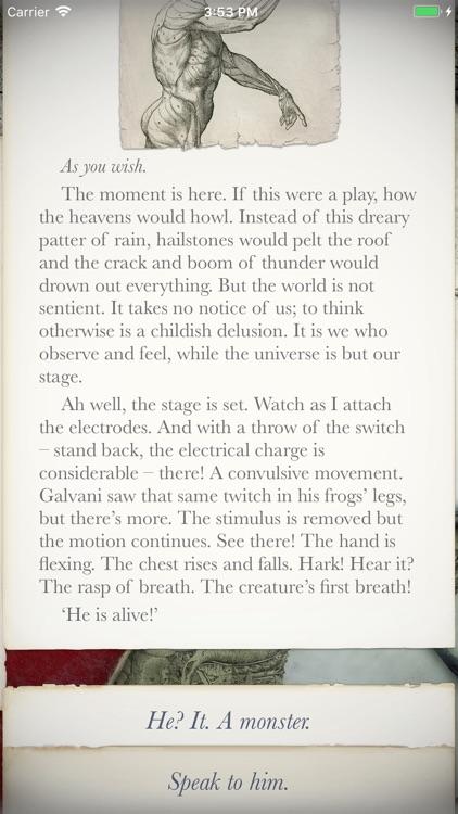 Frankenstein: Interactive screenshot-4