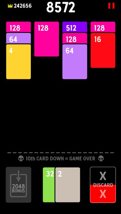 Twenty48 Solitaire screenshot 2