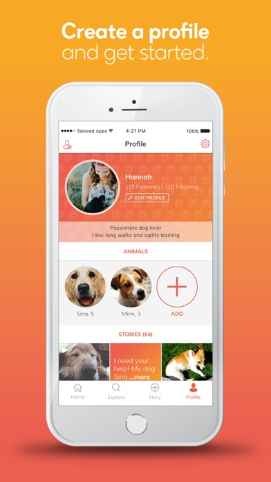 grinzoo - my social pet app Screenshot