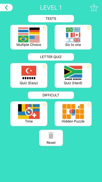 World Flags - Quiz & Puzzle screenshot-4
