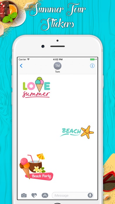 download Stylish Summer Stickers apps 3