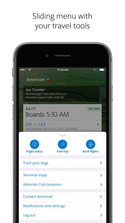 American Airlines screenshot-1