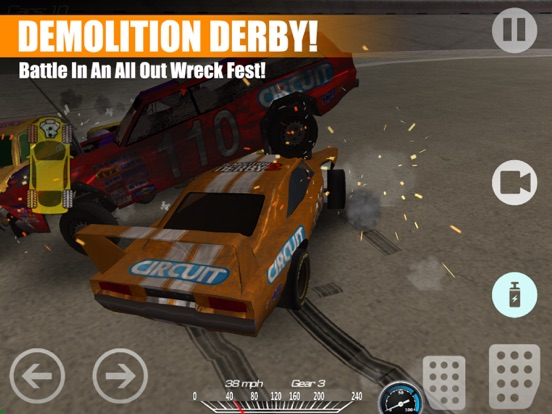 Circuit: Demolition 2 на iPad