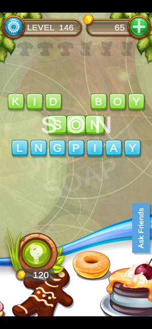Word Soap HQ - Connect Words Screenshot