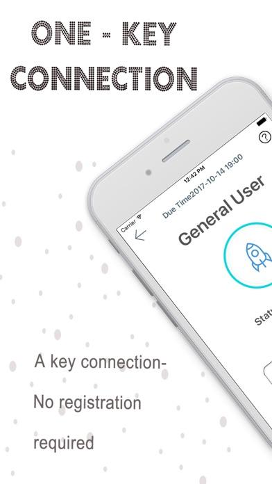 Touch VPN - Master proxy x vpn Screenshot on iOS