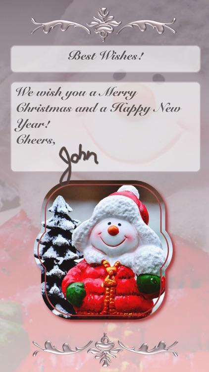 Christmas Cards • Greeting screenshot-9