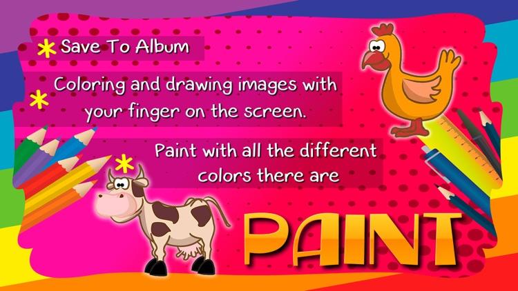 Coloring Book / Animals screenshot-3