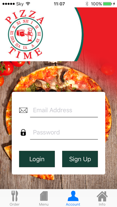 Pizza Time Antrim screenshot two