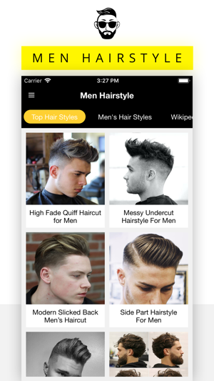 Enjoyable Men Hairstyle Haircuts On The App Store Schematic Wiring Diagrams Phreekkolirunnerswayorg