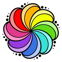 Colorflow Adult Coloring Book