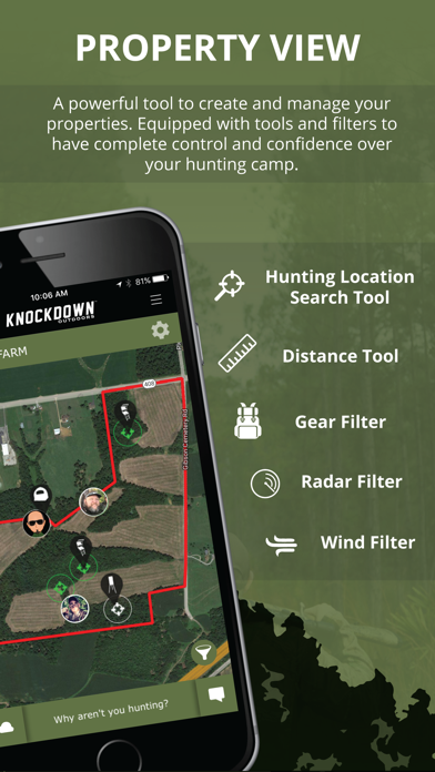 Knockdown Outdoors Hunting App Screenshot