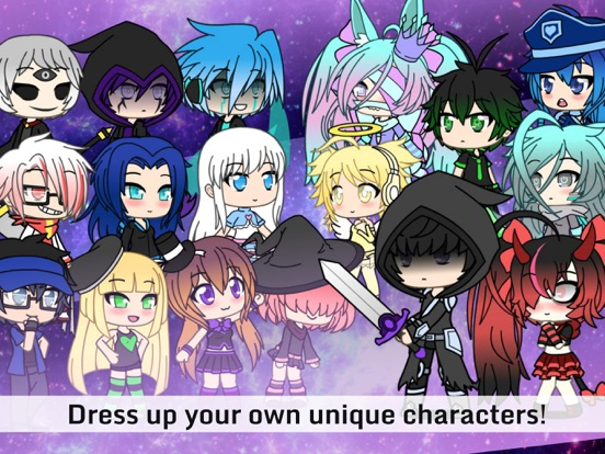 Скачать игру Gachaverse: Anime Dress Up RPG