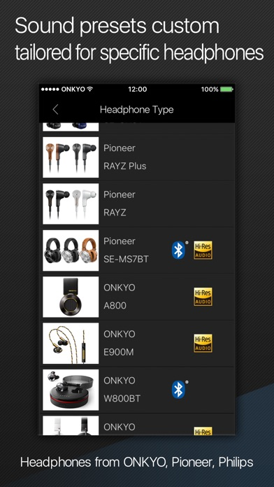 Onkyo HF Player - Hi-Res Music iPhone