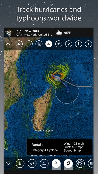 MeteoEarth Screenshot