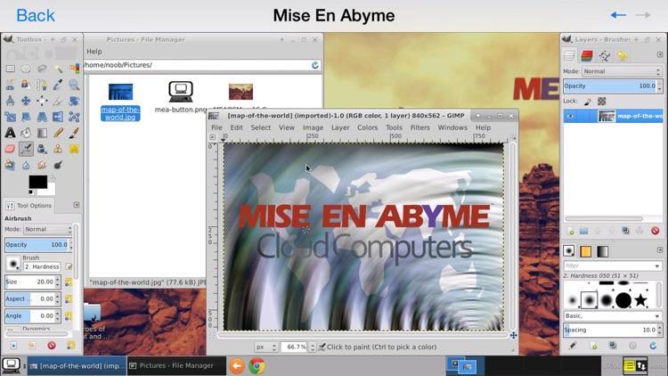 Mise En Abyme Cloud Computers