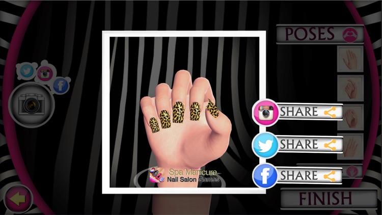 Spa Manicure Nail Salon Game