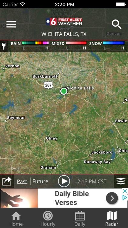 First Alert 6 Weather screenshot-3