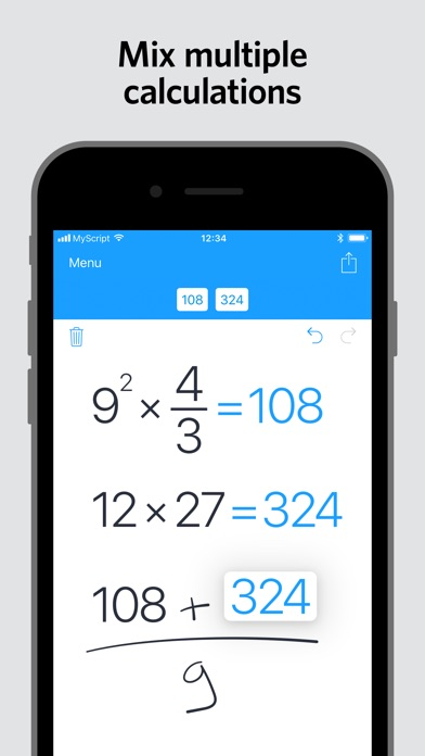 download MyScript Calculator apps 1