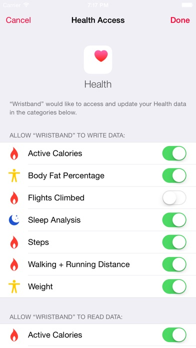 Data Manager for Fitbit screenshot1