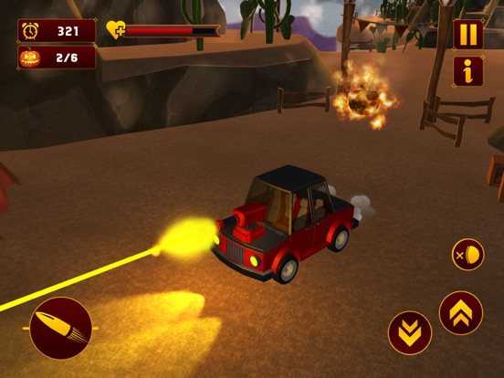 Scary Halloween Shooting Car screenshot 8