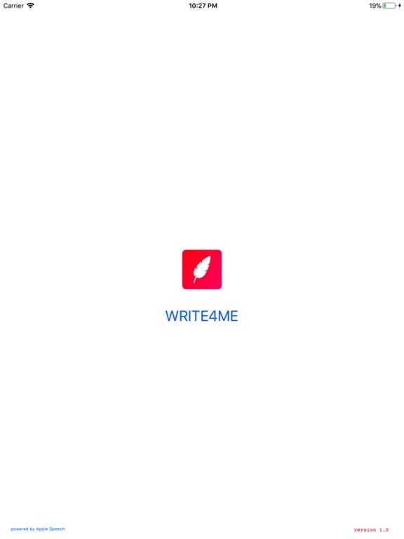 Write4Me - Voice to Text,Story screenshot 6
