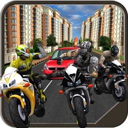 Bike & Car Fight Race 2017