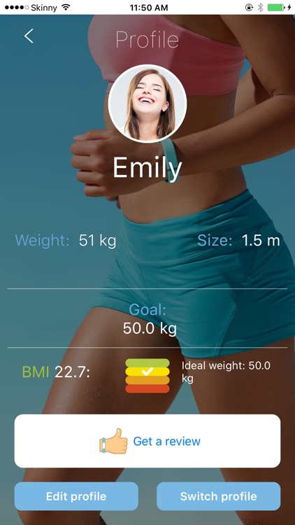 Weight Tracker, BMI monitor screenshot-4