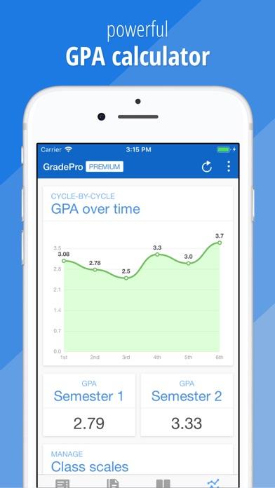 Gradepro For Grades review screenshots